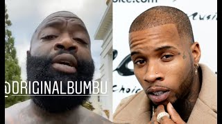Rick Ross ROAST Tory Lanez Calls His Music Wack And Says He Lives In A $1500 Apt In Miami