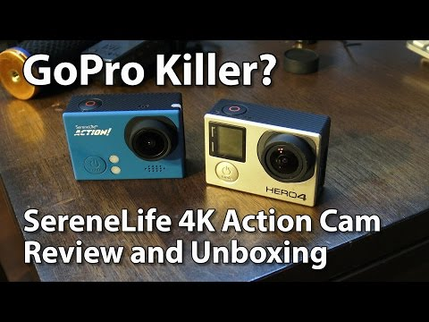 GoPro Killer? SereneLife SLDV4K Action Cam Review