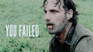 Rick Grimes || You Failed