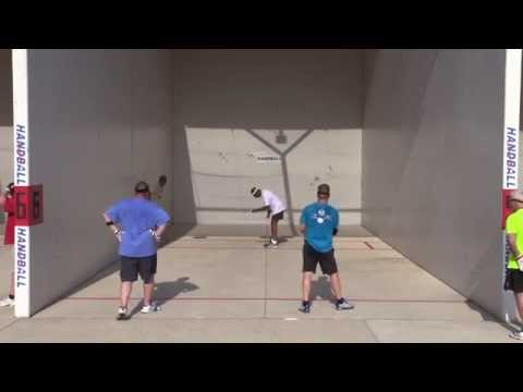 Maumee   June 2015  Pick up Game  Tad & Jason vs Joe & Frank 2