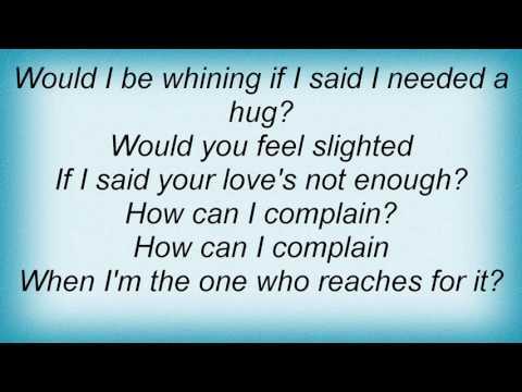 Alanis Morissette - Can't Not Lyrics