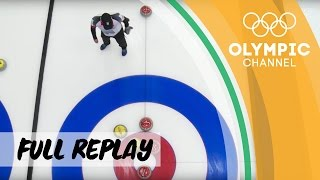 RE-LIVE | Semi-Finals - Curling World Mixed Doubles Championships 2017