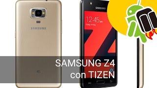 Samsung Z4: características del nuevo smartphone con Tizen