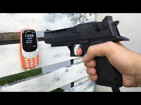GUN vs NOKIA 3310 - 2017 Edition