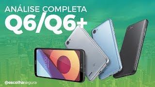 Análise LG Q6 e Q6+   pra quem gosta de TELA!