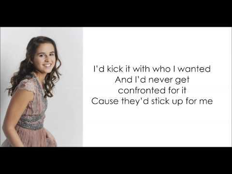 Carly Rose - If I Were a Boy - Lyrics