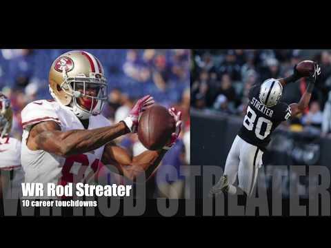 Buffalo Bills WR Rod Streater