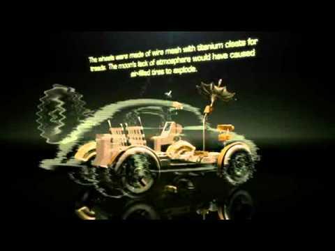 Lunar Rover Vehicle LRV1 - YouTube