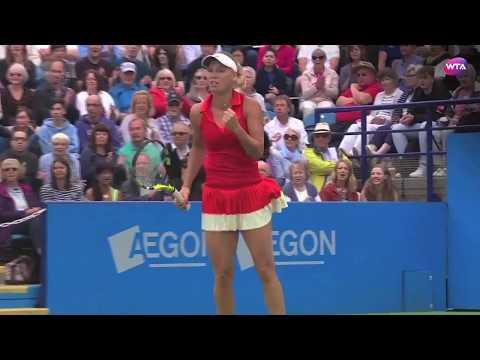 2017 Aegon International Eastbourne Final | Shot of the Day | Caroline Wozniacki