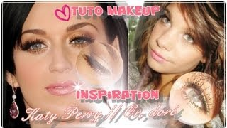 Tuto maquillage Stars // ✸ Katy Perry Doré