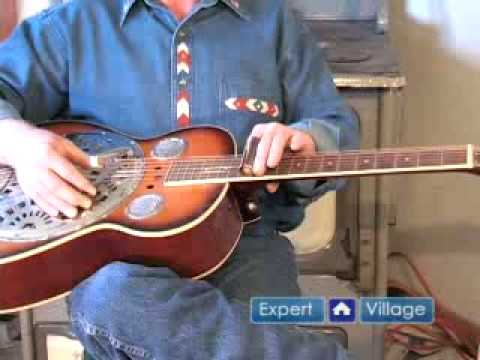 How to Play Dobro Slide Guitar Music : Acoustic Slide Guitar Techniques for Dobro Guitar