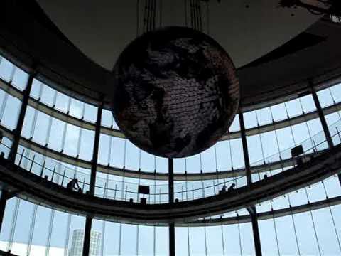 Globe in MeSci, Odaiba, Tokyo