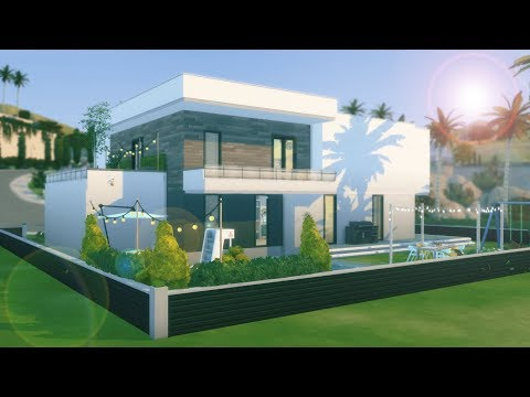 DOM Z LOSOWYCH KOLORÓW - The Sims 4 Speed Build || COLOUR PALETTE BUILD CHALLENGE thumbnail