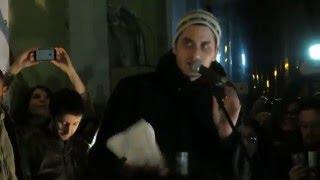 Luca Marinelli e Claudio Santamaria - Un'Emozione Da Poco live Roma 25 aprile 2016