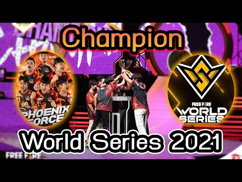 FreeFire💥 PHXF Champion 🔥World Series 2021🔥 แชมป์โลก🌎