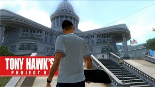 Tony Hawk's Project 8 On S CK - The Capitol PS3 Gameplay