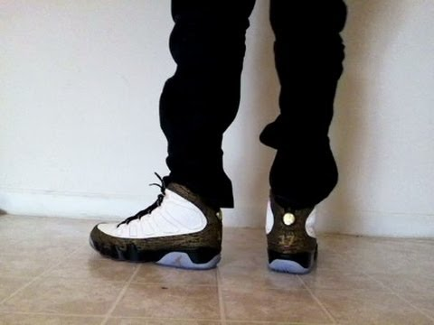 "Jordan 9 IX ""Doernbecher"" on feet - YouTube