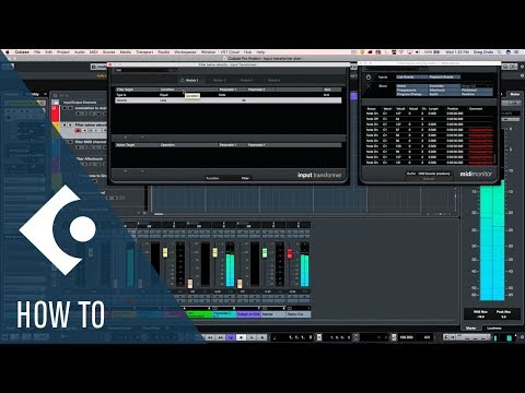 How to Use the Input Transformer in Cubase | Q&A with Greg Ondo