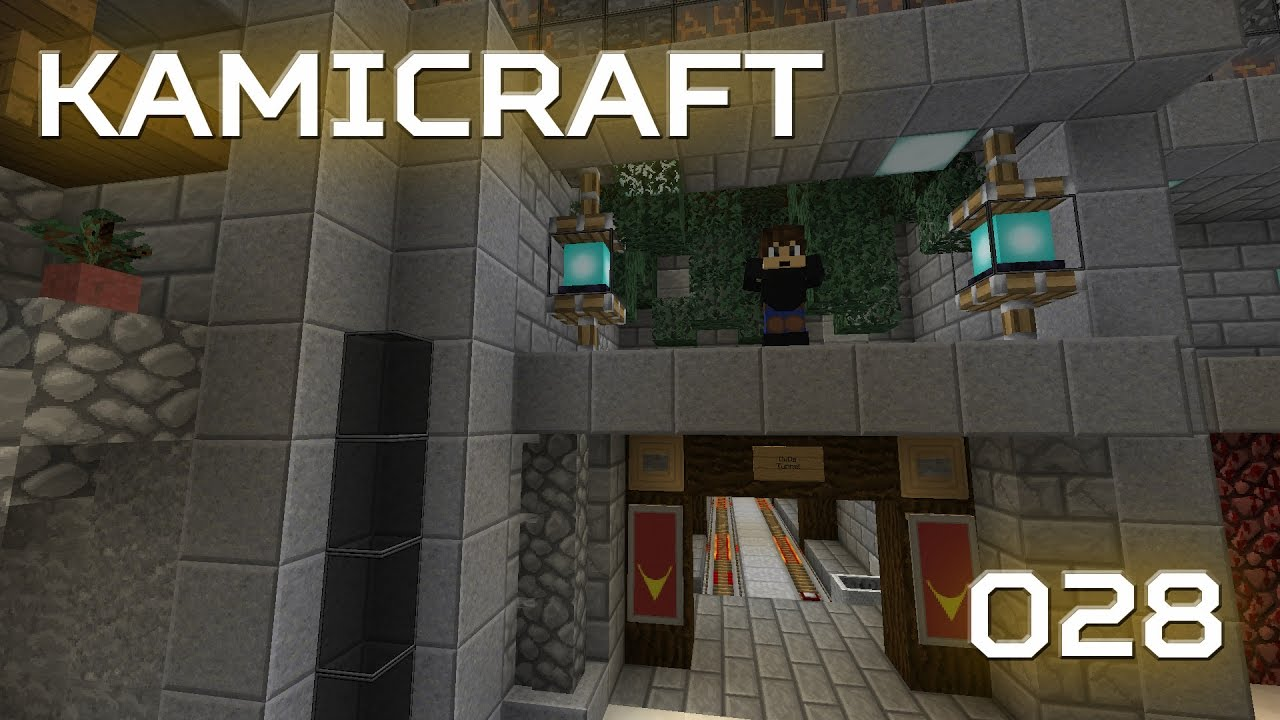 Kamicraft 028 Nether Tunnel Designs A Minecraft Lets Play