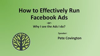 How to Effectively Run Facebook Ads