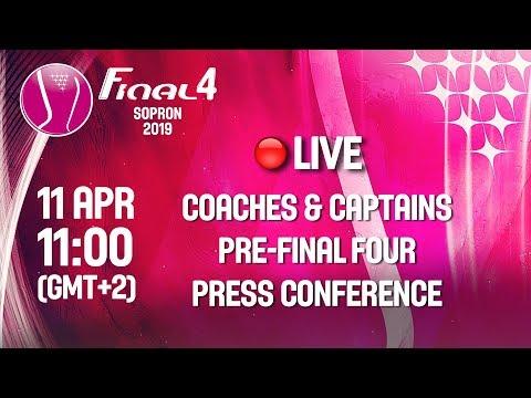 Final Four Pre-Event Press Conference