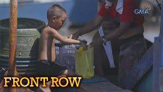 Front Row: Magkapatid, umaakyat sa malalaking bangka para manghingi ng mga tirang pagkain