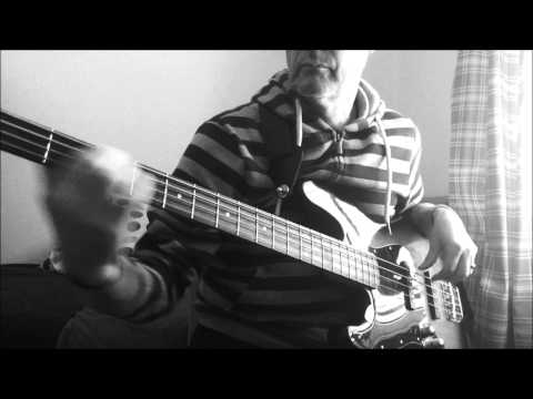 ARE FRIENDS ELECTRIC-TUBEWAY ARMY/GARY NUMAN bass cover