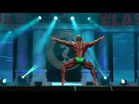 Fred Smalls Mens Open Best Posing @Arnold Classic 2018