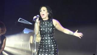 """Demi Lovato - """"Hello"""" (Adele Cover) Vocal Range [F#3-A5]"""