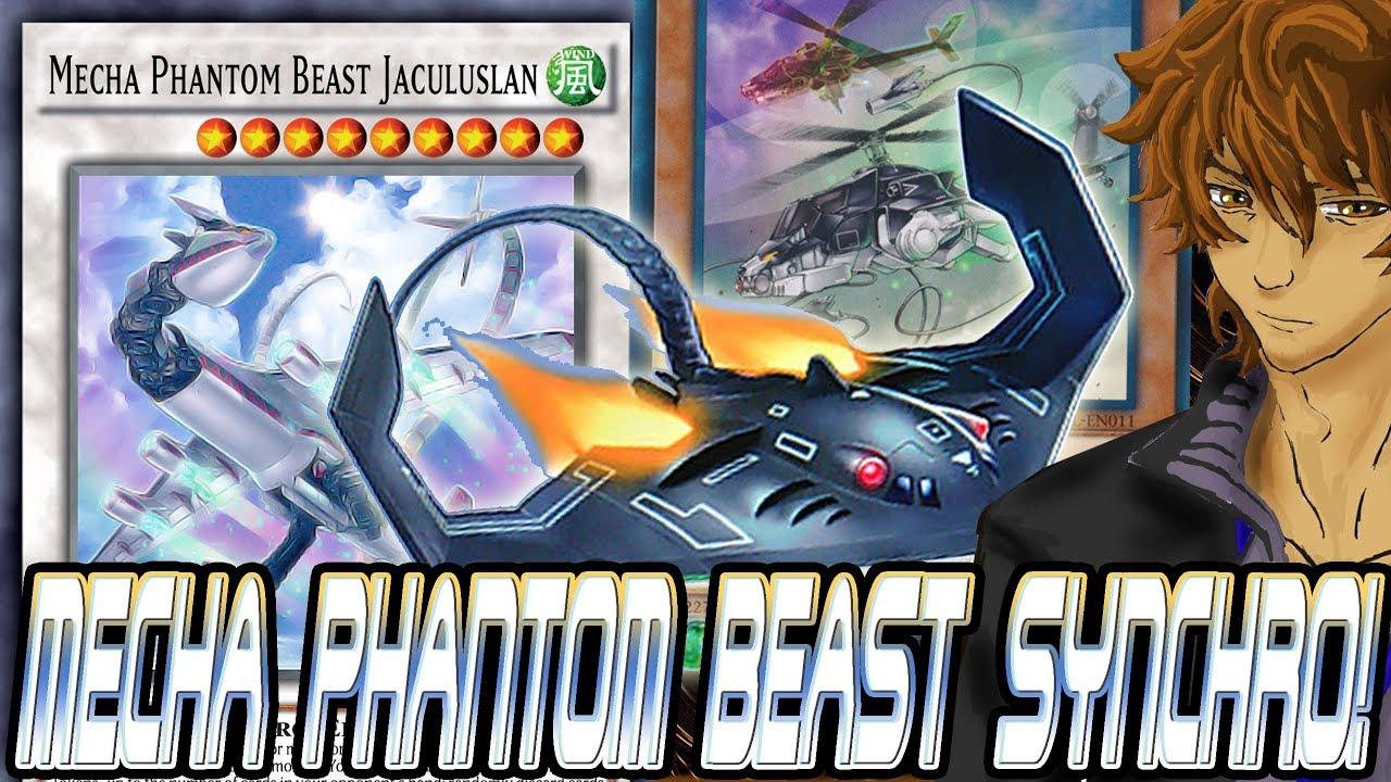 MECHA PHANTOM BEAST SYNCHRO! JACULUSLAN LEVEL AUGMENTATION! | YuGiOh Duel  Links