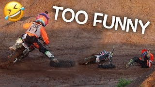 Hudsons Hilarious Crash! Dangerboy Vlogs Supercross