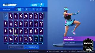New skin Fortnite flipping dance all dances