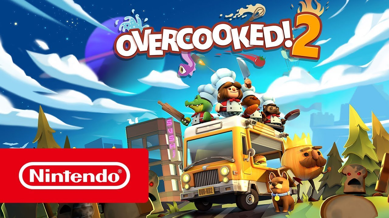 Overcooked! 2 - Launch Trailer (Nintendo Switch)