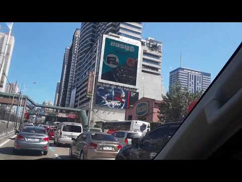 Driving in Metro Manila, Philippines!!