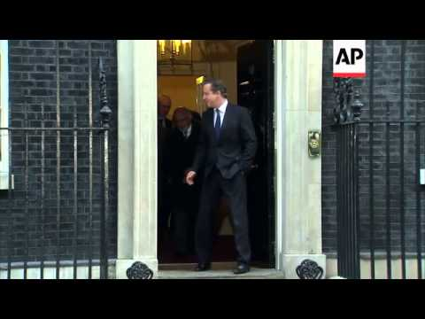 British PM hosts President of Afghanistan and Pakistani PM for meeting