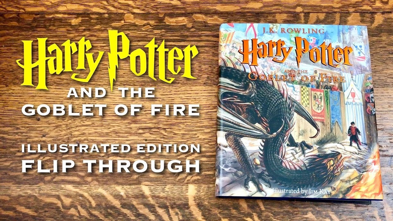 Harry Potter Illustrated Edition Flip Through Goblet Of Fire Illustrated By Jim Kay