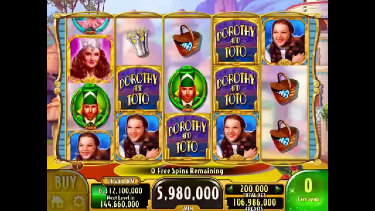 Online Casino Wizard Of Oz Slot Machine