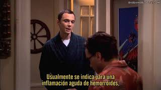 The Big Bang Theory 4x06 - Que Vergüenza, Leonard