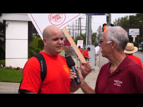 Internet FOX 11 Contract Informational Picket