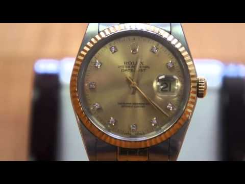 Rolex Oyster Perpetual Datejust 16233   Movement of Seconds Hand