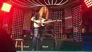 Guthrie Govan on stage...