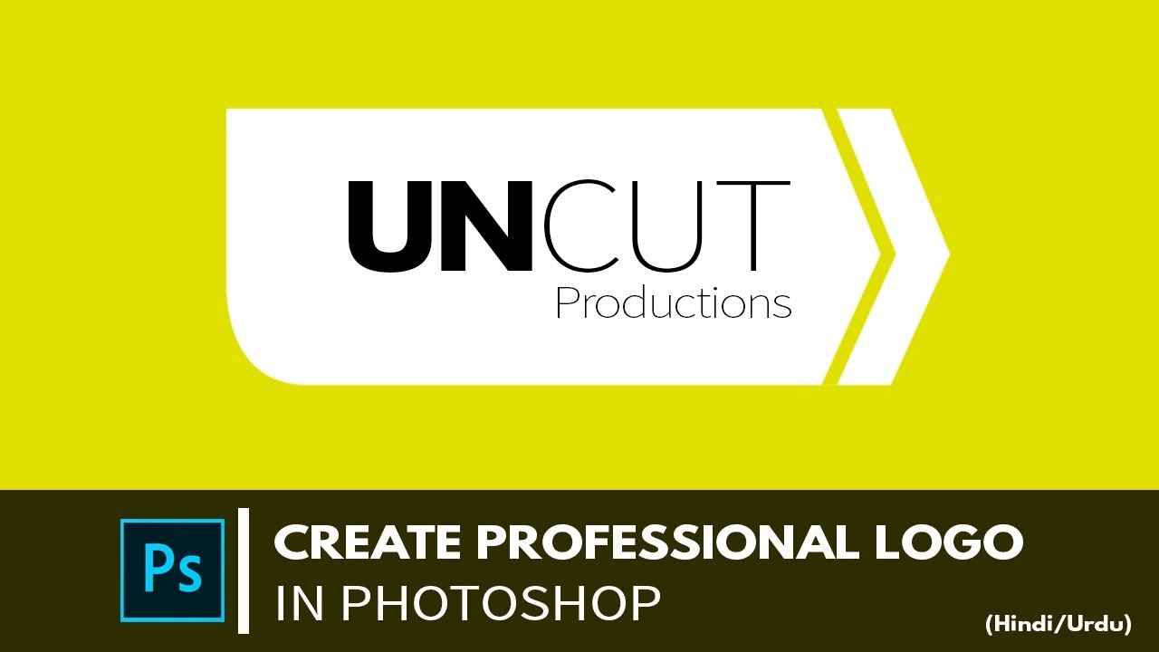 how to create a professional logo in photoshop cs4
