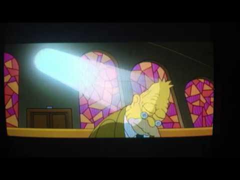 The Simpson S Movie Grandpa In Church Youtube