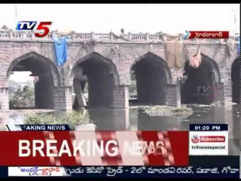 History of Purana Pul Bridge | Purana Pul Bridge in Trouble : TV5 News
