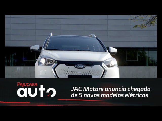 JAC Motors anuncia chegada de 5 novos modelos elétricos
