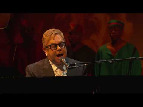 The Circle of Life  Elton John at the Theater Awards  London November 13 2016
