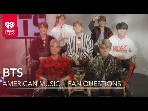 BTS Favorite American Music + Fan Questions | Exclusive Interview