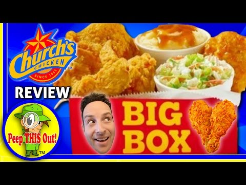 Church's Chicken® | Big Box Review! Peep THIS Out! 🐔