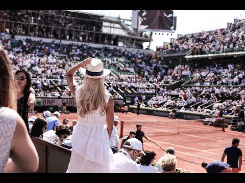 Access All Areas at the ROLAND GARROS French Open with EUROSPORT!  |   Fashion Mumblr Travel Vlog
