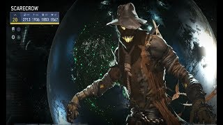Injustice 2 Classic Scarecrow Gear Loadout & Gameplay